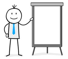 Leere Textfläche / Präsentation / Schulung / Seminar / Flipchart