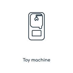 toy machine icon vector
