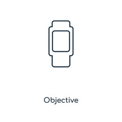 objective icon vector