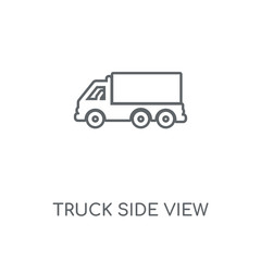 truck side view icon