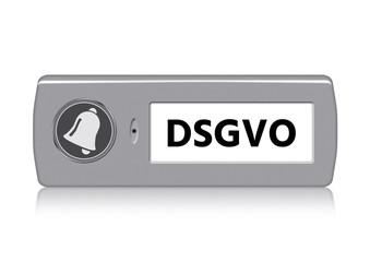 Klingel klingelschild DSGVO