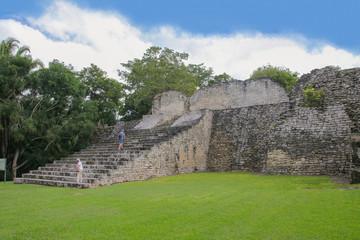 Mexico, Kohunlich, Maya Ruins, Peolpe