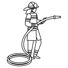 avatar fireman design