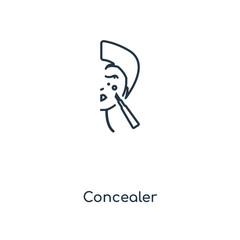 concealer icon vector