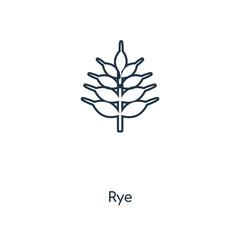 rye icon vector