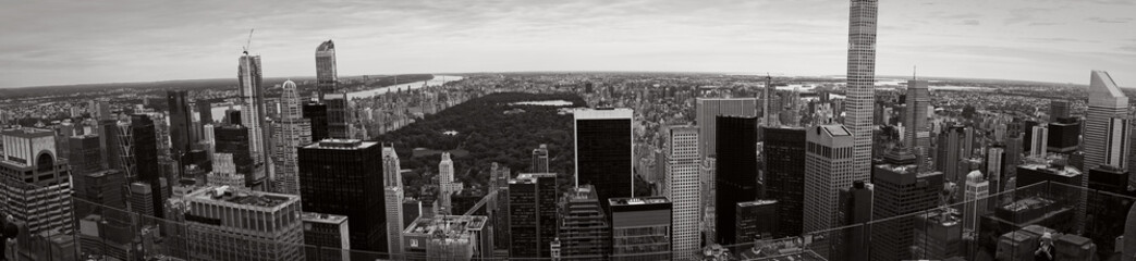 Panorama of New York skyline