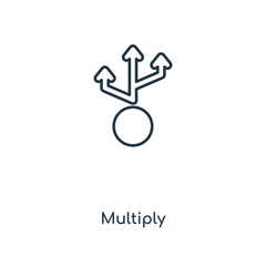 multiply icon vector