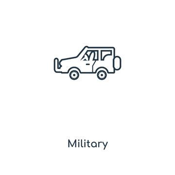 military icon vector