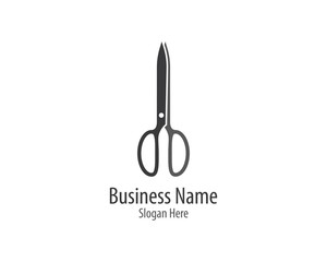 Scissors symbol illustration