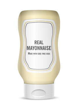 Mayonnaise bottle