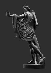 Apollo Bronze Statue