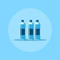 water bottles icon