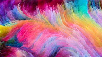 Colorful Paint Unfolding