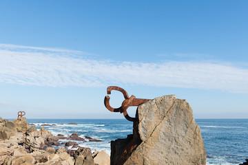 San Sebastian, sculptures Peine del Viento