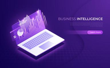 Business intelligence, financial performance, data analysis isom