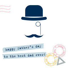 Father day gift card background. Abstract father day pattern for design card, party invitation, fater's day store season sale, art workshop, t shirt, bag print  etc.