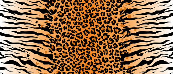 stripe animals jungle tiger cat fur texture pattern seamless repeating orange yellow black