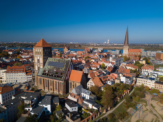 St. Nicolai und Petrikirche in Rostock