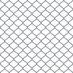 Fence black background - stock vector