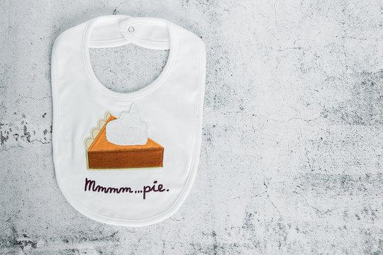 Pumpkin Pie Baby Bib
