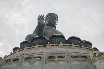Tian Tan Buddha in Ngong Ping, Lantau Island, Hong Kong