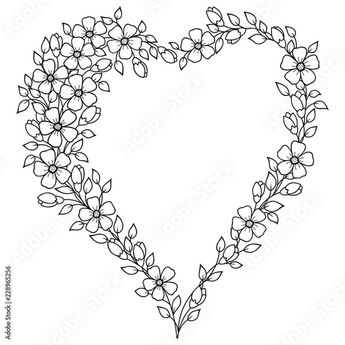 U0026quot Pattern In Form Of Heart For Henna  Mehndi  Tattoo