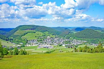 Foto op Plexiglas Groene WILLINGEN ( Hochsauerland )