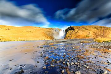 Skógafoss Wasserfall Island