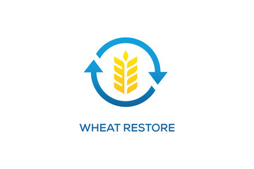 WHEAT RESTORE LOGO DESIGN