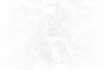 White-grey background. Light texture with bokeh effect. Scalable vector graphics. Delicate, elegant pattern