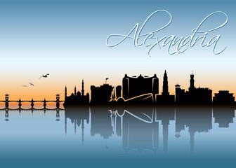 Alexandria skyline - Egypt