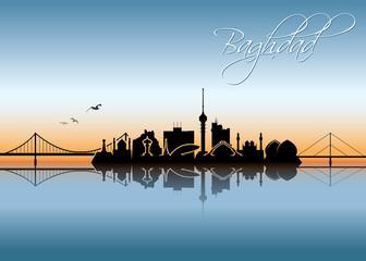 Baghdad skyline - Iraq