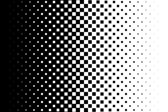 Gradient background Halftone pop art design Light effect Seamless pattern Vector illustration