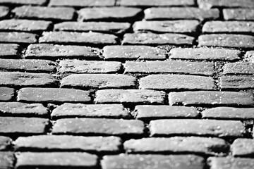 background texture stone pavement / abstract stone background bricks