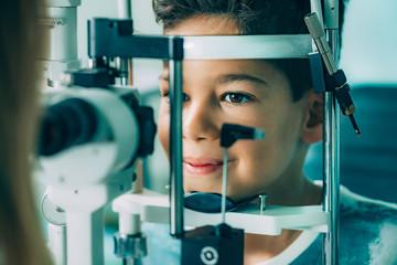 Ophthalmology. Slit lamp exam