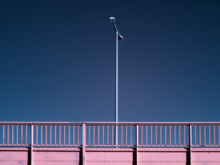 Brücke-abstrakt-Infrarot