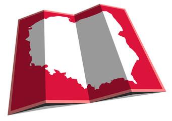 Fototapeta Polska - mapa