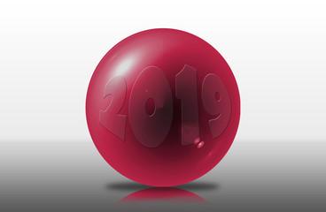 Boules 2019 en 3D