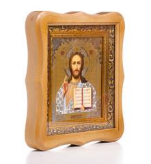 Icons faith bible on white background isolation