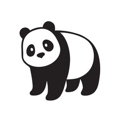 Giant panda illustration