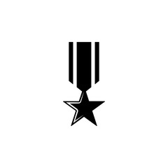 medal, weapon icon. Element of military illustration. Signs and symbols icon for websites, web design, mobile app