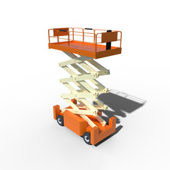 Scissor Lift for Safe Lifting in a Warehouse