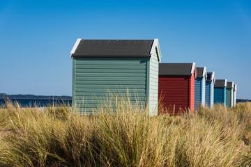 Strandhäuser von Findhorn