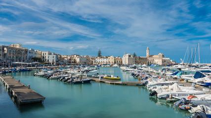 Photo sur Aluminium Algérie Hafen von Trani; Apulien; Italien