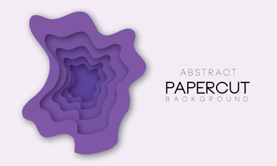 Abstract shapes in different purple colors. Background for banner, presentations, flyers, posters.
