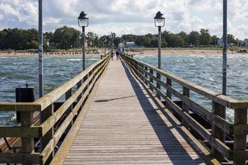 An der Seebrücke Lubmin