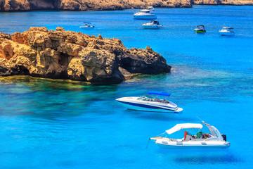 Landscape around Cape Greco near Ayia Napa, Cyprus