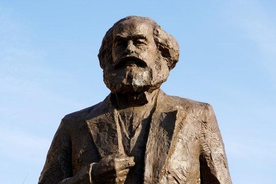 Karl Marx - Denkmal in der Geburtsstadt Trier