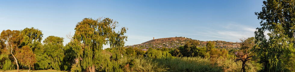 Northcliff nature view as seen from park in  Fairland Johannesburg