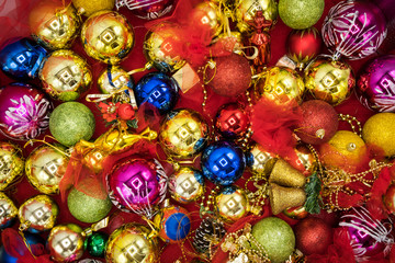 Colorful holidays background.